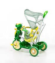 Трехколесный велосипед для детей Пчела,зеленая, фото 3