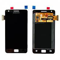 Дисплей + touchscreen (сенсор) для Samsung Galaxy S2 i9100, черный, оригинал