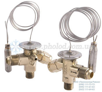 Термо-регулирующий вентиль с внутренним выравниванием Castel 2220/4