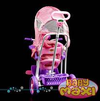 Трехколесный велосипед для детей Собачка,розовая, фото 2