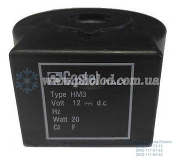Катушка постоянного тока к соленоидным вентилям Castel 9120/RD1 HM3 (12V)