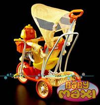 Трехколесный велосипед для детей Собачка,оранжевая, фото 2