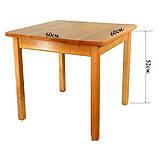 Деревянный столик Финекс Плюс, фото 2