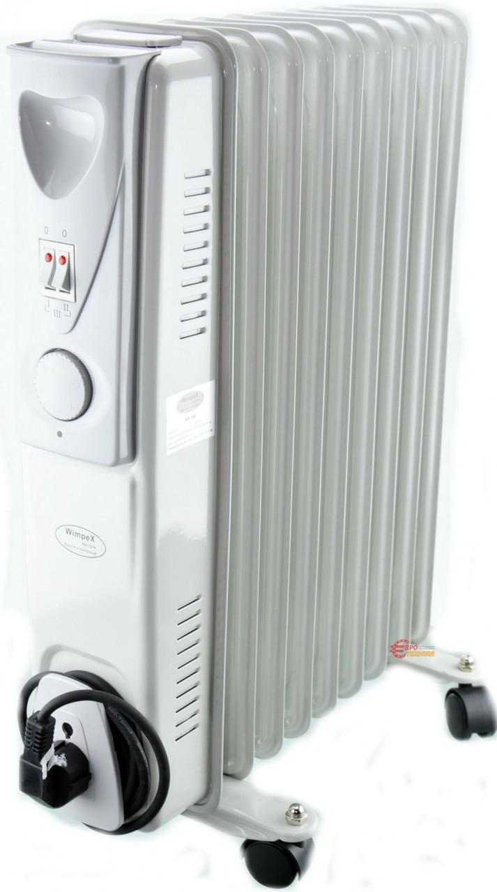 Обогреватель масляный Crownberg CB-9-S 200W Радиатор электрический на 9 Секций