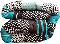 """Полуторное одеяло на овчине """"№729"""" (140х205)"""