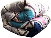 """Полуторное одеяло на овчине """"№730"""" (140х205)"""