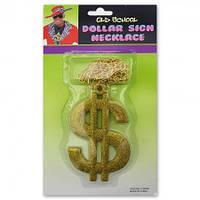 Доллар-кулон на цепочке