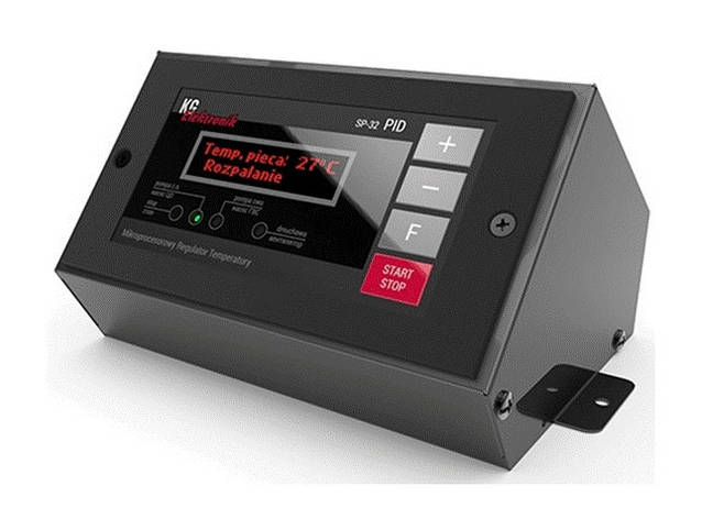 Автоматика для твердотопливного котла KG Elektronik SP-32 PID без датчика дымовых газов (Польша), фото 2