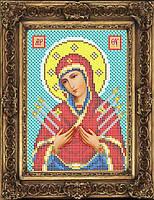 Набор иконы для вышивки бисером - Семистрельная Пресвятая Богородица, Арт. ИБ5-115-1