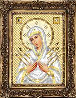 Набор иконы для вышивки бисером - Семистрельная Пресвятая Богородица, Арт. ИБ5-115-2