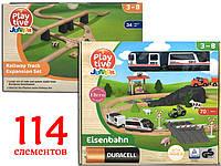 Набор игровой железной дороги PlayTive Junior (114 деталей)