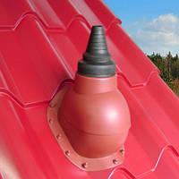 Антенный выход  KRONOPLAST  для металлочерепицы высотой волны до 46 мм