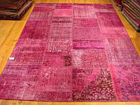 Розовый безворосовый ковер, интернет магазин ковров в Украние
