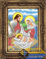 Набор иконы для вышивки бисером - Рождество Христово, Арт. ИБ4-138