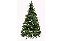 Литая искусственная елка Ель Буковельская 2.1 м Зеленая