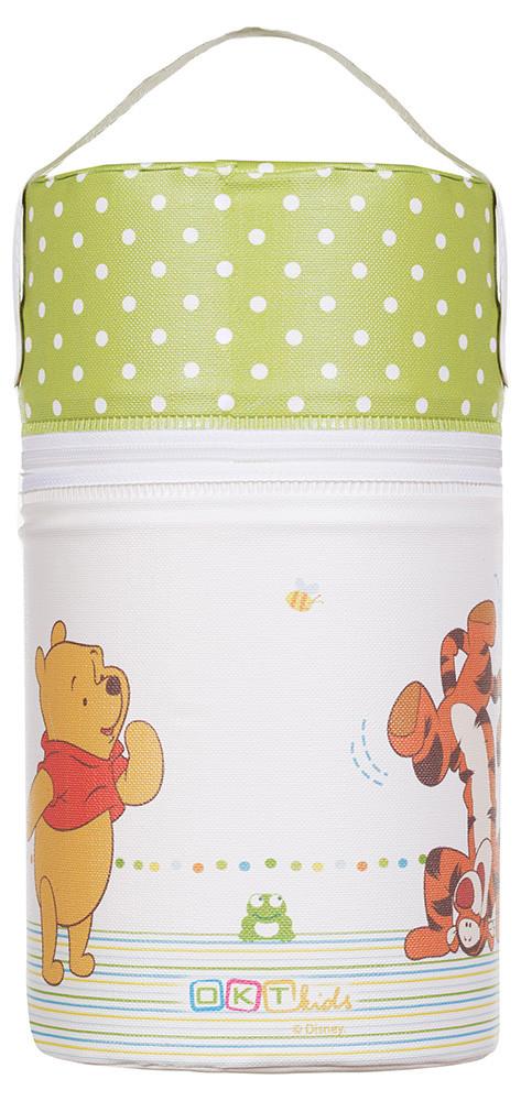 Термоконтейнер Ceba Baby Pooh бежевий-зелений (вінні-пух, тигра)