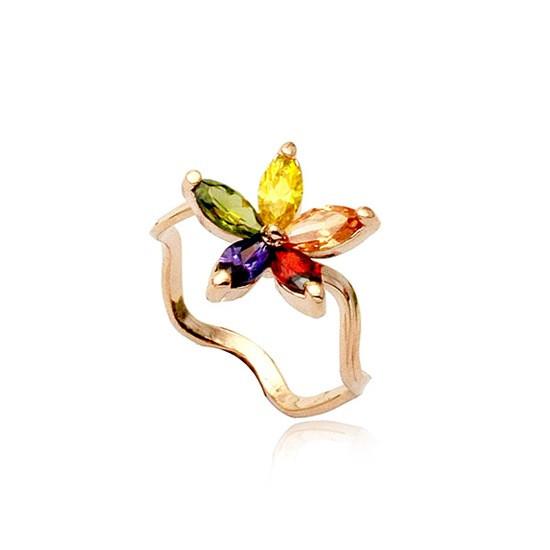 "Кольцо ""Цветок Таити"" (16.0 16.5 17.0 размеры в наличии)"