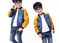 Джинсовая курточка на мальчика, Д-609-О, фото 1