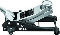 Профессиональный домкрат подкатной гидравлический 2,5т. YATO (YT-1721)