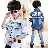 Джинсовая курточка на мальчика, Д-610-О, фото 1