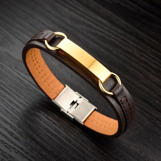 """Кожаный браслет """"Fashion"""""""