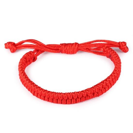 """Красный браслет """"Вера"""""""