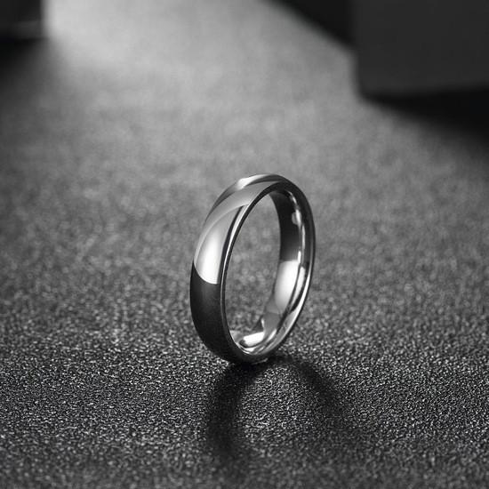 """Кольцо без вставок из нержавеющей медицинской стали """"Classic"""" (16.5 размер в наличии)"""