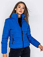 Женская короткая демисезонная куртка без капюшона, фото 1