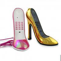 Телефон Туфелька золото