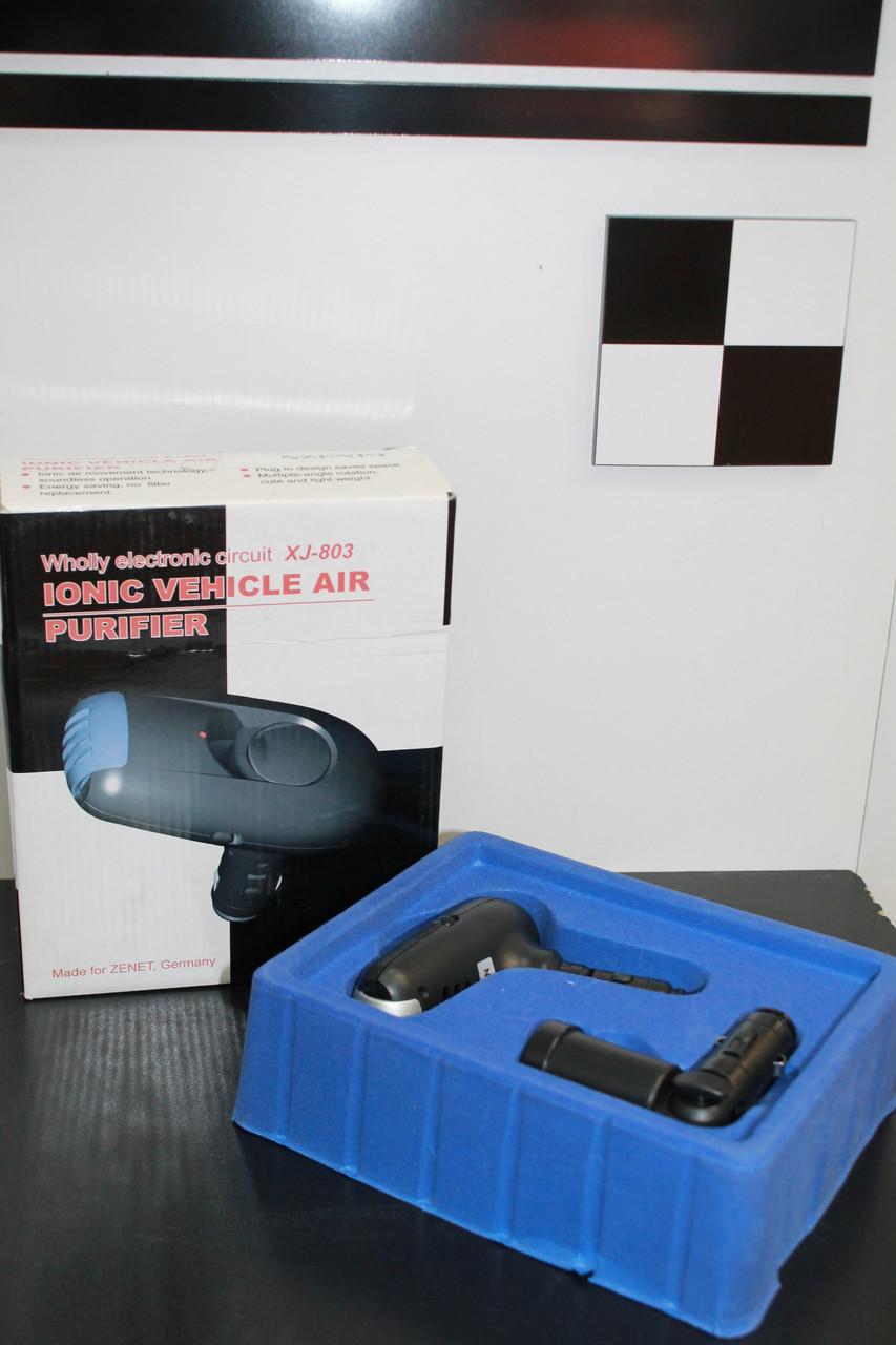 Автомобильный очиститель-ионизатор воздуха ZENET XJ-803 - МЕДТЕХНИКА  ТМ ZENET- Товары для здоровья в Днепре