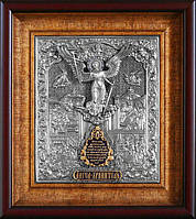 Икона Ангел Хранитель с молитвой 43х38х5 см San 213