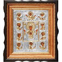 Икона Курская-коренная Знамение 43,5х38,5х7 см San 205