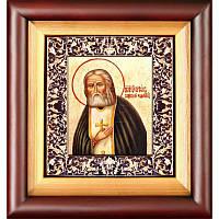 Икона преподобный Серафим Саровский Чудотворец 25,5х23 х 5 см 02-700