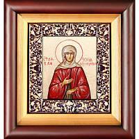Икона Святая блаженная Ксения Петербургская  25,5X23,5X 4,5 см