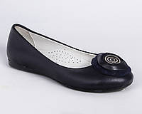 Балетки для девочки. Школьная обувь. L.W.Subbi. Турция.