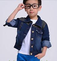 Джинсовая курточка на мальчика, Д-613-О, фото 1
