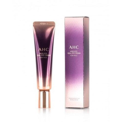 Антивіковий крем для повік та обличчя з пептидами AHC Ageless Real Eye Cream for Face 30 ml Корея