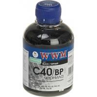 Пигментные чернила WWM C40 / BP Black Pigmented (200 ml) (Совместимость: Canon Fax- JX210P / JX510P; Pixma MP1