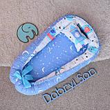 Позиционер - подушка с бортиками  для новорожденных, фото 6