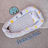 Позиционер - подушка с бортиками  для новорожденных, фото 7