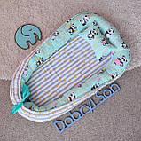 Позиционер - подушка с бортиками  для новорожденных, фото 9