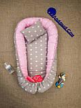 Детское гнездышко - кокон для девочки Единороги, фото 10