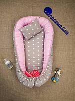 Гнездышко (кокон-позиционер) для новорожденных, фото 1