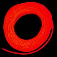 Холодный неон / электролюминисцетный провод 2-го поколения 1,4 мм, красный (розница, опт)
