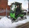 Nilfisk EGHOLM - надежная снегоуборочная машина для суровых зим!