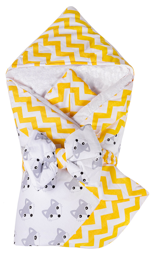 Конверт-одеяло Babyroom Dream DM-010  желтый лисички