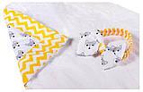 Конверт-одеяло Babyroom Dream DM-010  желтый лисички, фото 2