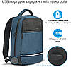 "Рюкзак для ноутбука Promate Explorer-BP 13.3"" Blue, фото 2"