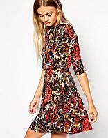 Яркое платье реплика ZARA-2015, фото 1