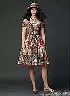 Яркое платье этно стиль
